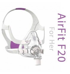 ResMed® AirFit F20™ For Her Στοματορινική Μάσκα