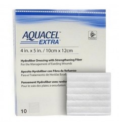 Aquacel Extra -  Μη κολλητικό υδροινώδες επίθεμα με πλέγμα.