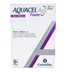 Aquacel Foam μη κολλητικό με Ag μη κολλητικό