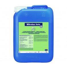 Mikrobac Forte 5lt  - Συμπυκνωμένο απολυμαντικό επιφανειών. (Παράγεται 500lt απολυμαντικό)