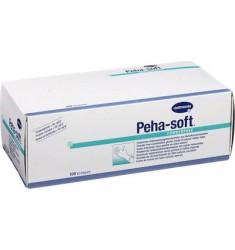 Peha Soft Latex Powderfree  - Εξεταστικά Γάντια λάτεξ χωρίς πούδρα (100τμχ.)